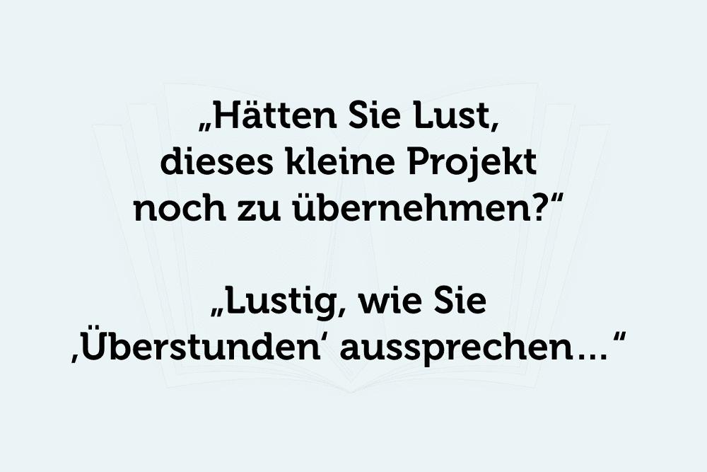 Ueberstunden Sprueche Schwarzer Humor Chef
