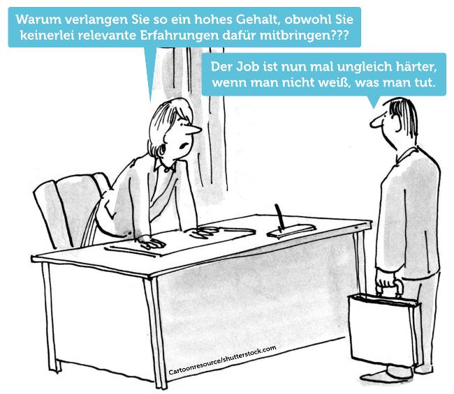 Cartoon-hohes-Gehalt