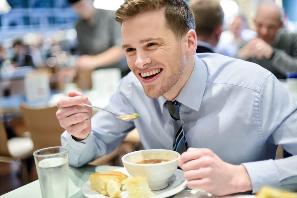 Essen Bewerbung Suppe