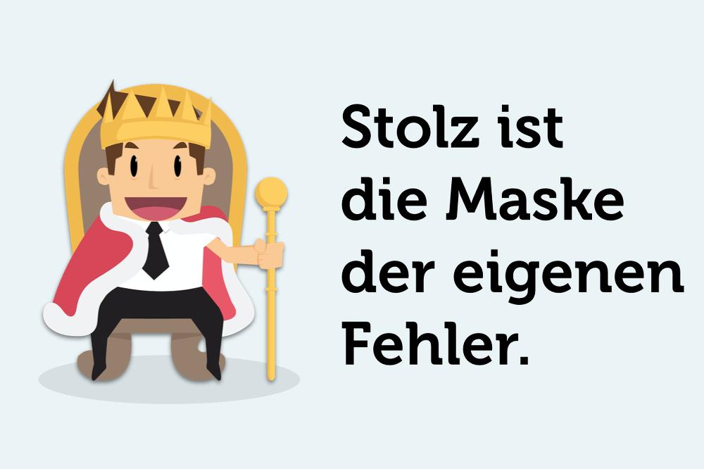 Stolz-Maske-Fehler