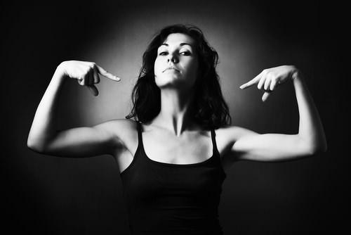 Stolze-Frau-Karrierefaktor