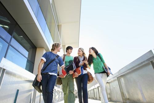 Uniranking-Campus-Studenten