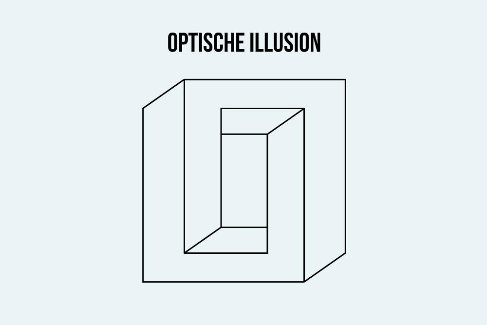 Optische Illusion Beispiel