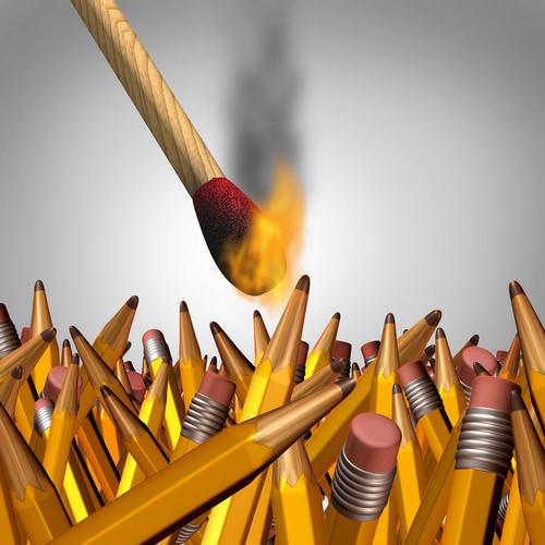 Organisational Burnout-Firma-Ausbrennen