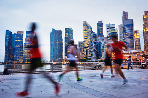 Expats in Singapur