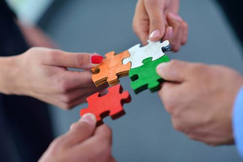 Sozialkompetenz-Team-Gruppe