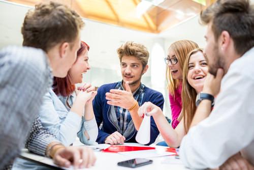 Brainstorming-Meeting-Methode