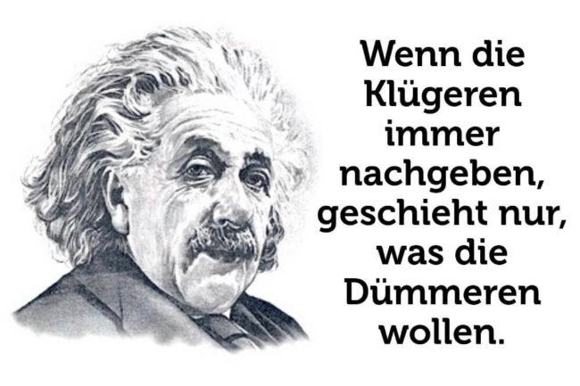 33 inspirierende Tweets von Albert Einstein