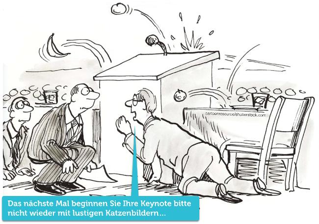 Keynote-Cartoon-Comic-Rede