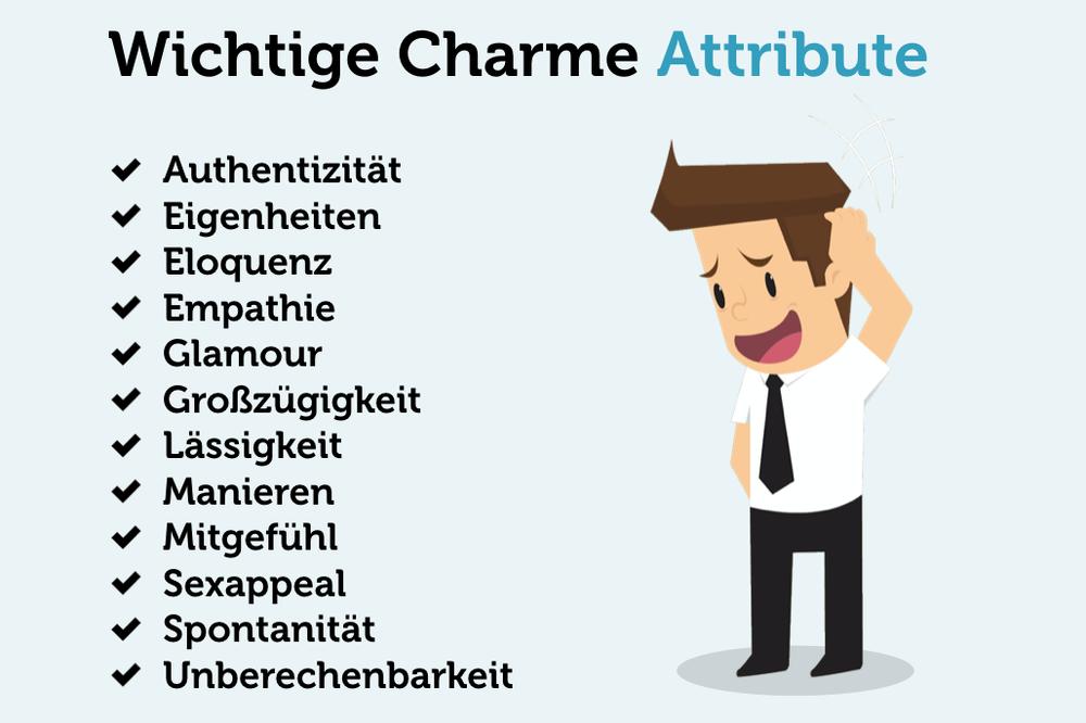 Charme-lernen-Attribute-Eigenschaften