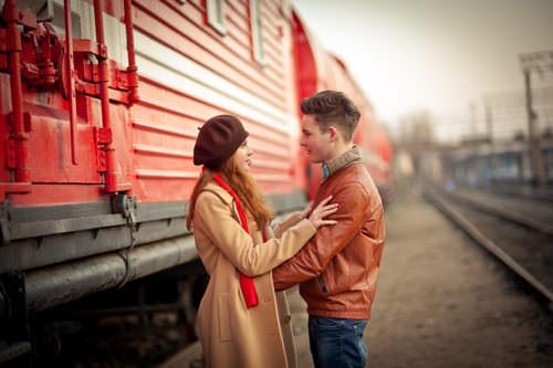 Fernbeziehung-Paar-Abschied-Liebe