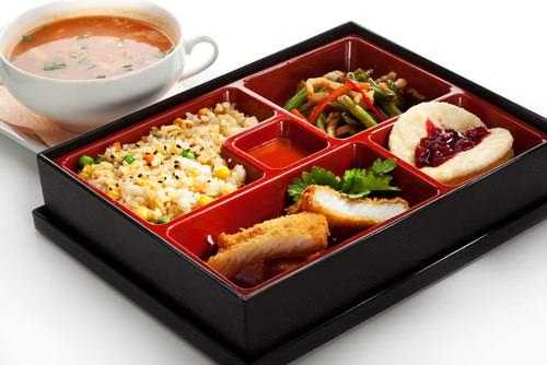 Mittagspause-Bento-Box