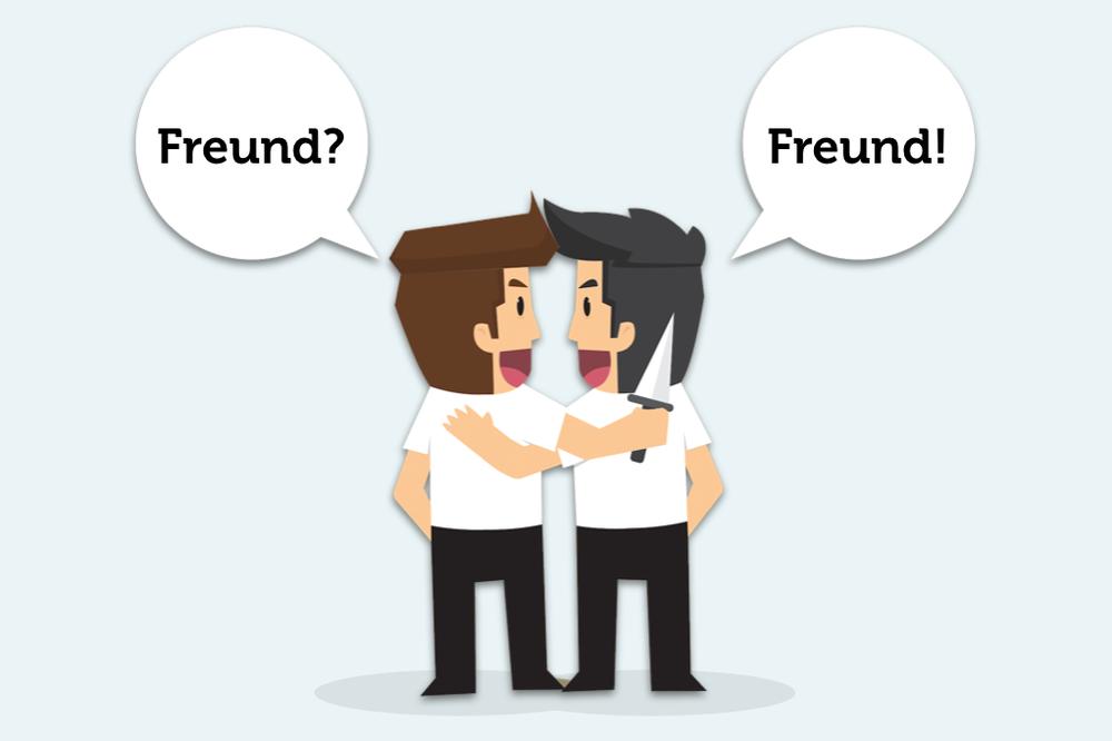 Falsche Freunde: Schlimmer als gut gemeint