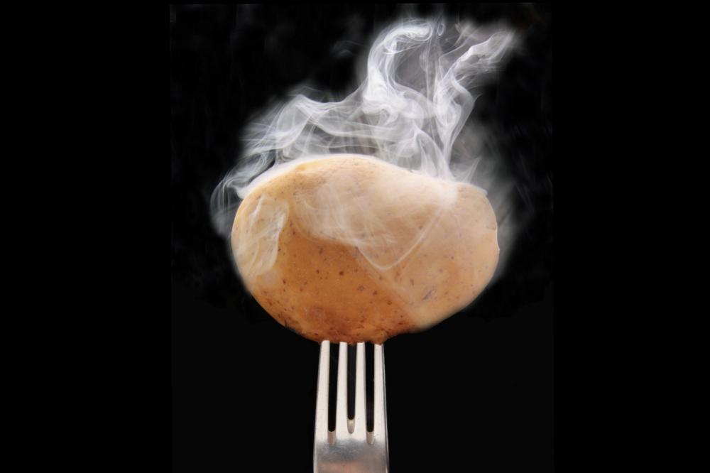 Heisse Kartoffel Prinzip Anfangen Machen erster schritt