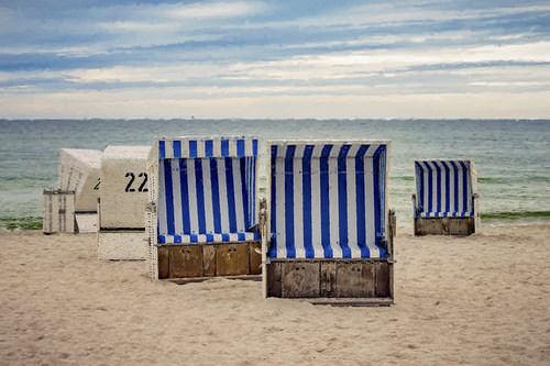 Insel-Sylt-Strandkorb