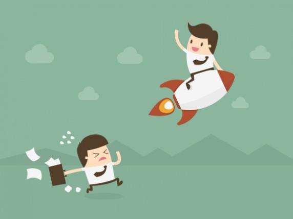 Konkurrenzdenken: Im Wettbewerb mit anderen