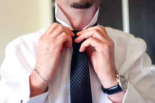 Krawatte-binden-Knigge