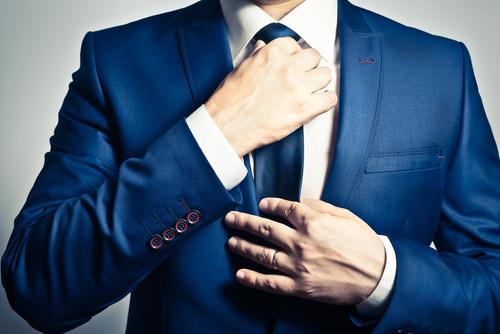 Krawatte-knoten-Kniggeregeln