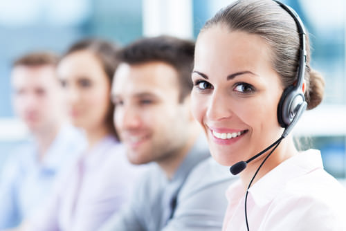 Kundencenter-Callcenter-Telefon