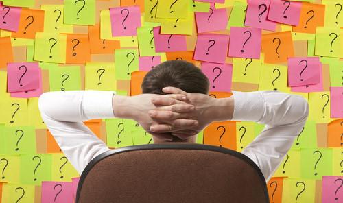 Manager-Chef-Tag-Fragen