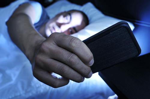 Nachts-Telefon-Anrufen