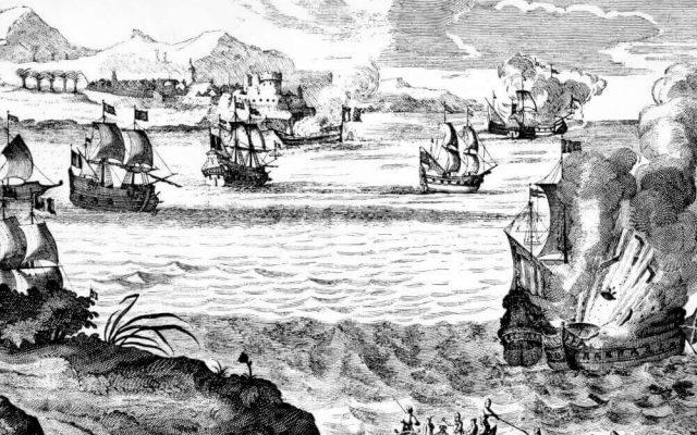 Panama Ruinen Henry Morgan Pirat