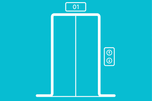 Peter-Prinzip-Lift-Aufzug