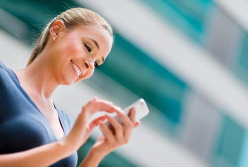 Smartphone-Bewerbungsanschreiben
