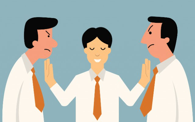 Streit-Teamarbeit-Fehlfunktionen