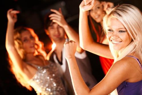 Tanzen-Disco-lernen