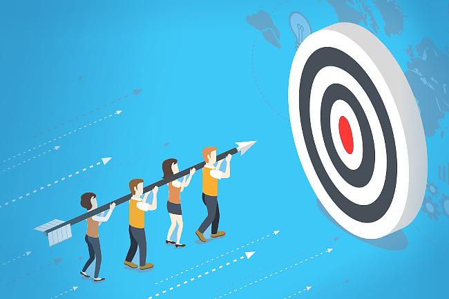 Teamwork-Unternehmenskultur-Gemeinsam