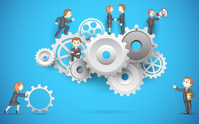 Unternehmenskultur-Firmenkultur-Team