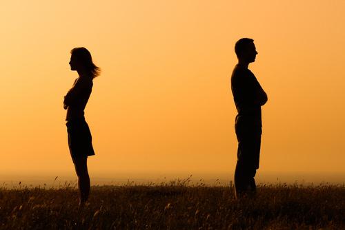 Verzeihung-Vergebung-Paar