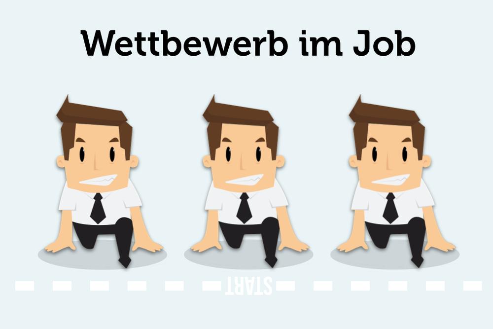 Wettbewerb-Wettkampf-Job