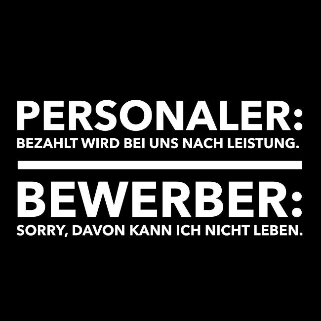 Bewerberwitz