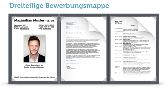 Reihenfolge Bewerbung Mappe Mit Dramaturgie Karrierebibelde