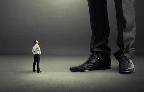Boss-Groß-Unfehlbar-Arrogant
