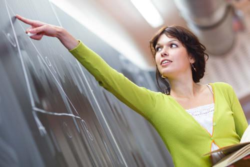 Lehrer-Referendariat-Frau