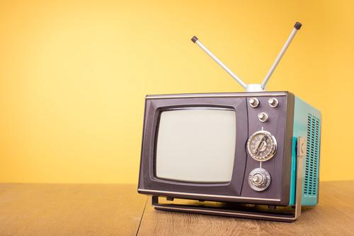 Nostalgie-TV-Ferneseher