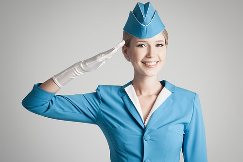 Stewardess-Uniform-Corporade-Dresscode