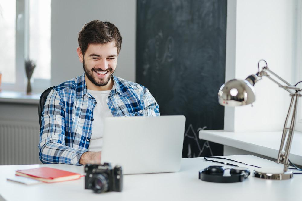 Bewerbungshomepage: Online zum Job