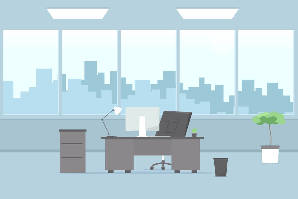Buero Ambiente Interior Ergonomie Office