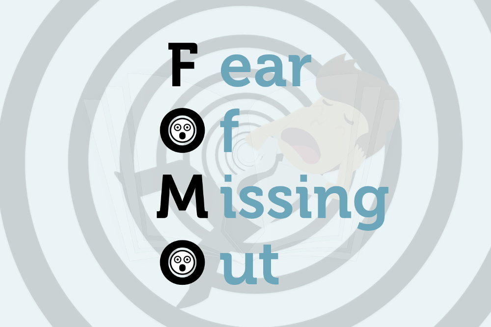 FOMO Fear of Missing Out Angst verpassen