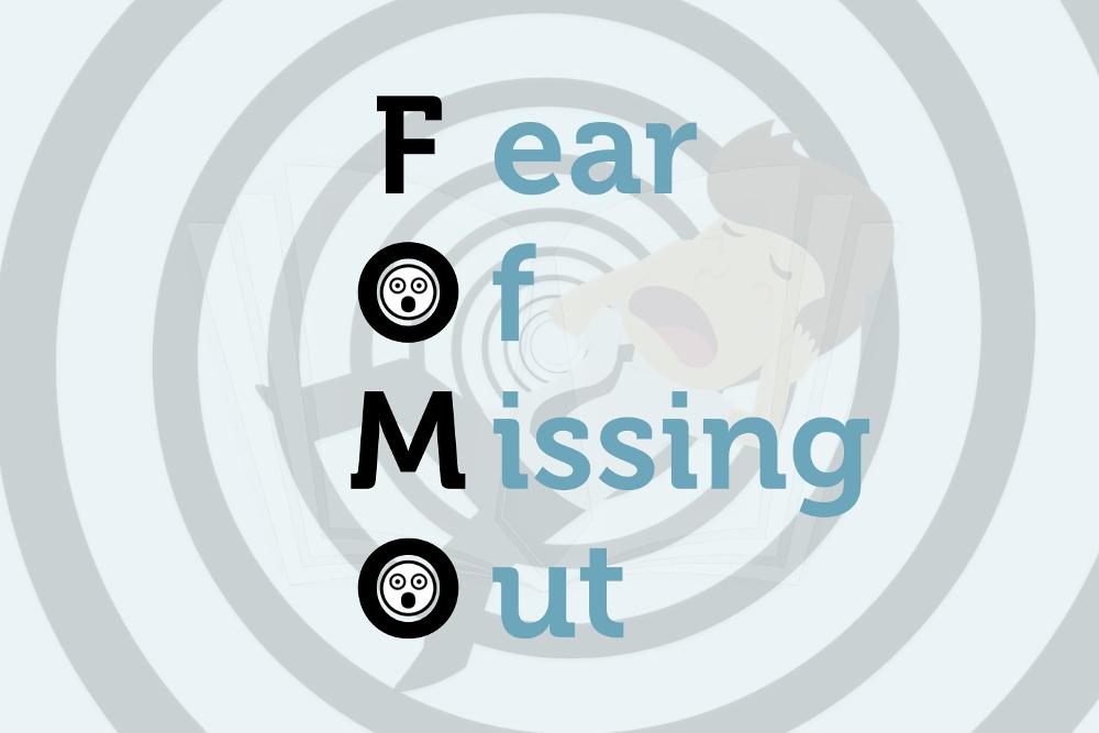 FOMO: Die Angst, etwas zu verpassen