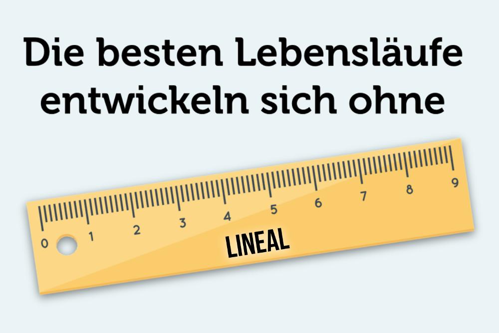 Lebenslauf Brueche Luecke Lineal Spruch Zitat Karriereverlauf