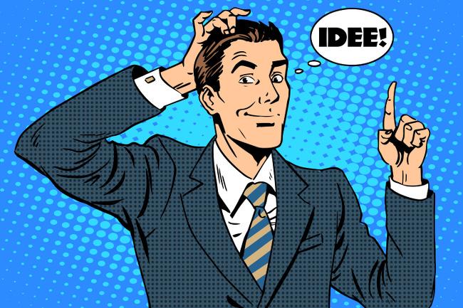 Selbstmanagement-Zeitmangement-Idee-Popart