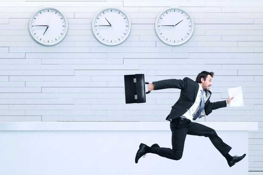 Uhrzeigersinn Uhr Verhalten beeinflussen