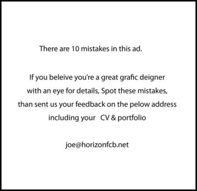Kreative-Stellenanzeigen-Fehlerteufel