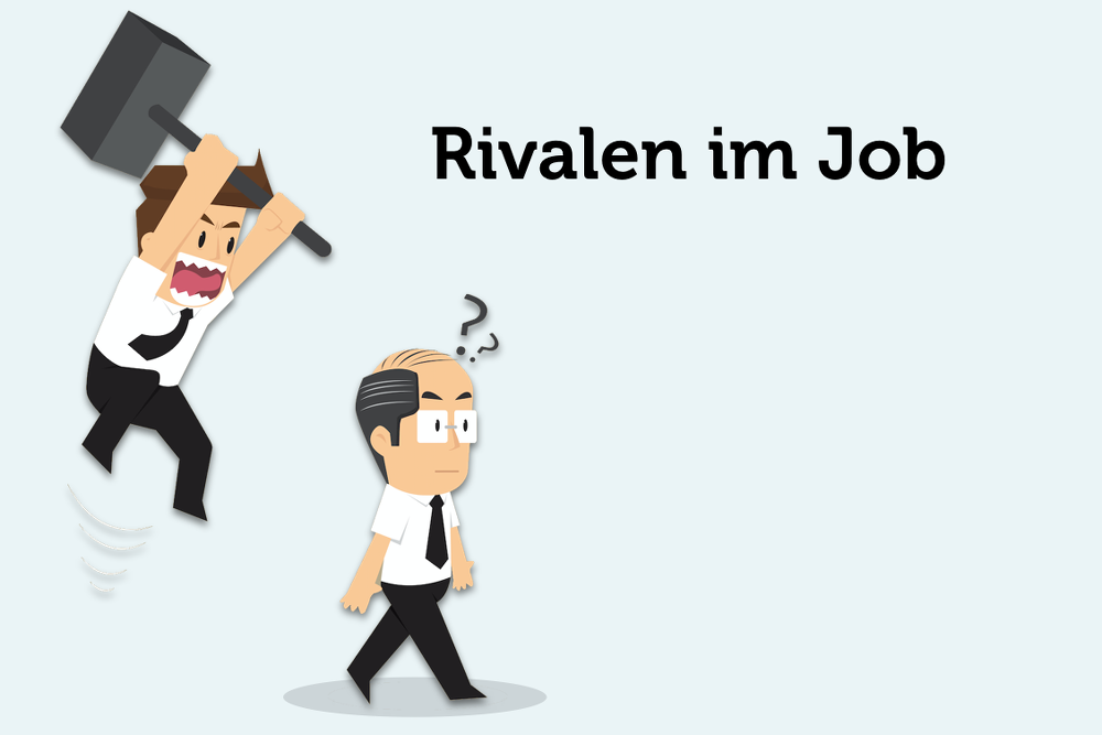 Rivalität im Job: Können Sie gönnen?