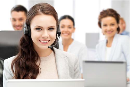 Groß Wird Für Das Call Center Des Kundendienstmitarbeiters ...